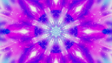 Cosmic Blue Vortex VJ Looping Animated Background