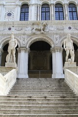 Doge's Palace courtyard - venice italy