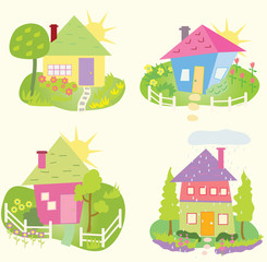 Spring Home icons