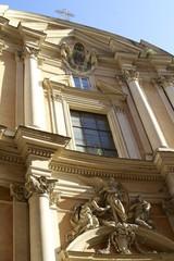 Roman church building - architecture