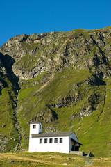 Barbarakapelle auf der Bielerhöhe - Alpen