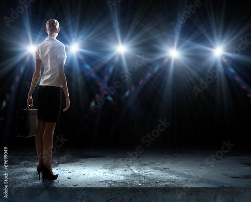 Speaker on stage - 69699049