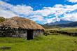 Archeological Indian Hut in Cotopaxi National Park, Ecuador