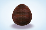 Brick Wall Etched Egg poster