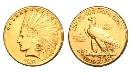 USA 10 Dollars Gold Coin