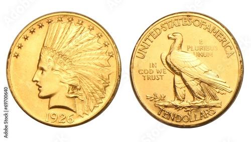 USA 10 Dollars Gold Coin - 69700640
