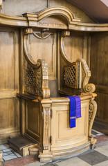 wooden confessionals