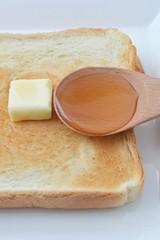 蜂蜜とトースト