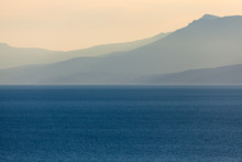 zee landschap