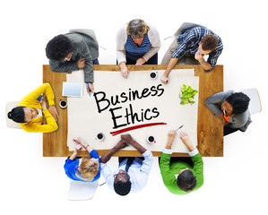 Group of People Discussing About Business Ethics