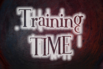 Training Time Concept
