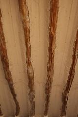 Poutres au plafond