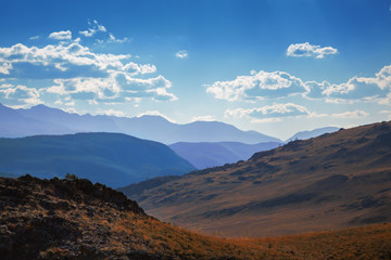 Altai scenic mountains