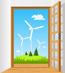 Open the door to green energy