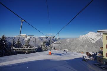 domaine skiable de saint pierre de chartreuse - télésiège