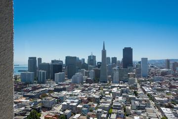 San Francisco top view