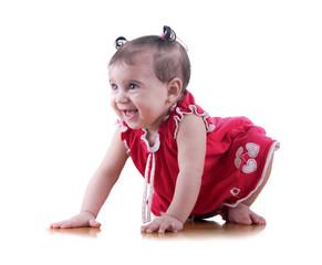 Happy Young Baby Girl