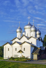 The Church of Boris and Gleb, Veliky Novgorod, Russia
