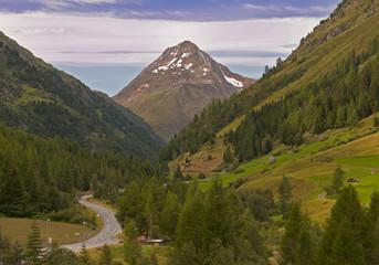 Mountain valley, Tirol, Austria