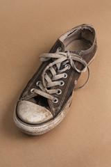Single dirty shoe