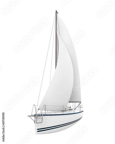 Sailing Yacht Isolated - 69708498