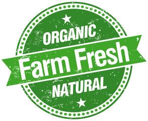 farm fresh stamp