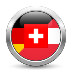 German-speaking Europe, D-A-CH countries – metallic button
