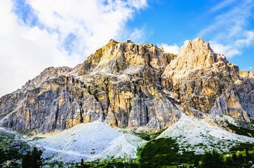 Italian Dolomites landscape, Dolomites Mountains, Italy