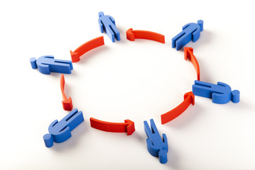 Concept of teamworkTeamworkTeamwork