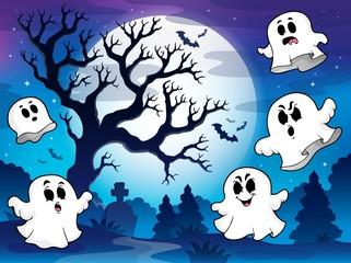 Spooky tree theme image 9