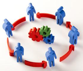 Teamwork Meeting