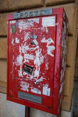 Cassetta Postale rosso, cassette delle lettere, poste