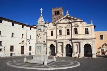 The Basilica di San Bartolomeo in Rome