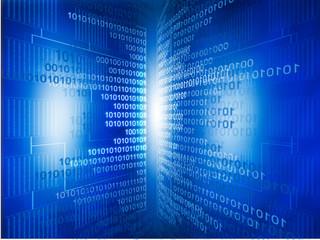 binary background..