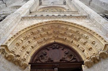 Blois Saint Nicolas Church Portal