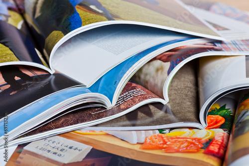 Zeitschriften, Magazine Poster