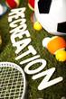 Quadro Recreation, sports equipment
