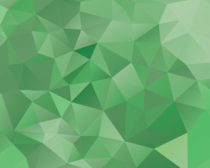An abstract polygon style vector background