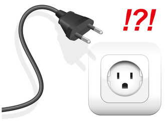 Wrong Socket Plug Connector