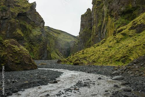 Thorsmork Canyon, Iceland