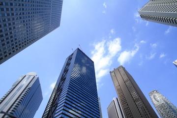 新宿のビル群