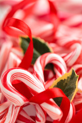 Candy Cane Background.