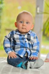 Portrait eines Kleinkindes