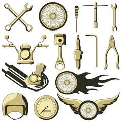 Retro Motor Parts