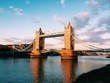roleta: Tramonto sul Tower Bridge