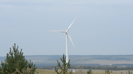 The wind turbine Russia
