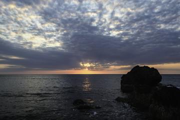 Rock Sea Sunrise