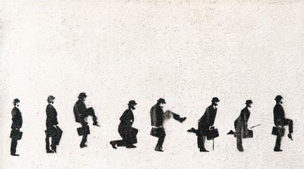 Gentleman stencil