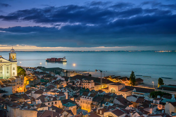 Lisbon at sunrise