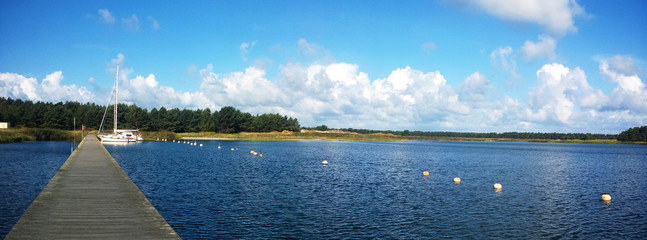 Panoramabild - Ostsee - Bodden